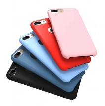 ТПУ накладка Silky Original Case для iPhone 5 / 5S / SE