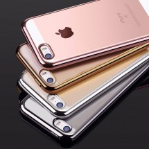 ТПУ накладка Electroplating Air Series для iPhone 5 / 5S / SE