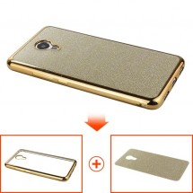 ТПУ накладка Electroplating Sparkle Series для Huawei Y3 II
