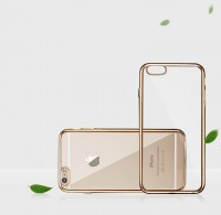 ТПУ накладка Electroplating Air Series для iPhone 6 / 6S