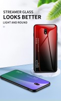 ТПУ чехол Color Glass для Xiaomi Redmi 8A