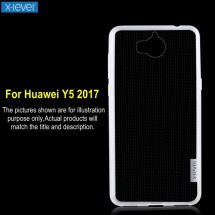ТПУ накладка X-Level Antislip Series для Huawei Y5 2017 (прозрачная)