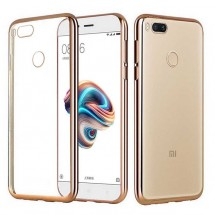 ТПУ накладка Electroplating Air Series для Xiaomi Mi A1