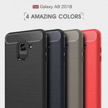 ТПУ накладка для Samsung Galaxy A8 2018 A530F Slim Series