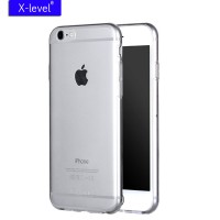 ТПУ накладка X-Level Antislip Series для iPhone 6 / 6S (прозрачная)
