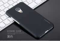 Пластиковая накладка X-Level Metallic Series для Meizu M3 Note (soft-touch)