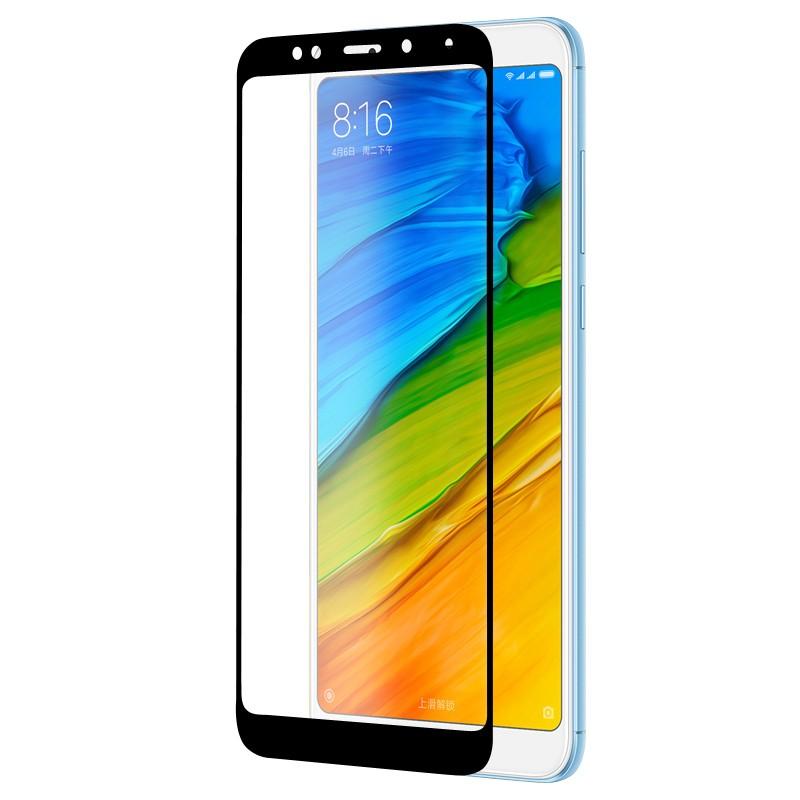 Защитное стекло с рамкой для Xiaomi Redmi 5 Plus Frame 2.5D Glass