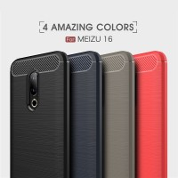 ТПУ накладка для Meizu 16th iPaky Slim