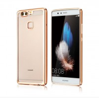 ТПУ накладка Electroplating Air Series для Huawei P10 Plus