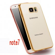 ТПУ накладка Electroplating Air Series для Samsung N930F Galaxy Note 7