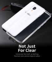 ТПУ накладка X-Level Antislip Series для Meizu M3s / M3 mini (прозрачная)