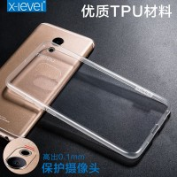 ТПУ накладка X-Level Antislip Series для Meizu Pro 6 (прозрачная)