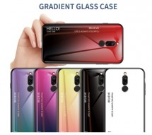 ТПУ чехол Color Glass для Xiaomi Redmi 8
