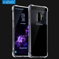 ТПУ накладка X-Level Crashproof Series для Samsung G955F Galaxy S8 Plus