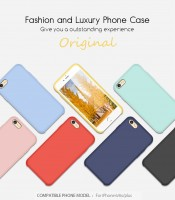 ТПУ накладка Silky Original Case для iPhone 6 / 6S