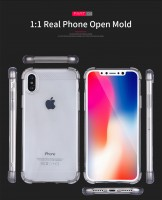 ТПУ накладка X-Level Crashproof Series для iPhone Xs