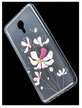 ТПУ накладка со стразами Lucent Diamond Case для Xiaomi Redmi Y1 Lite