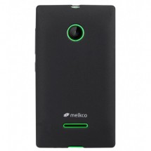 ТПУ накладка Melkco Poly Jacket для Microsoft Lumia 532 (+ пленка на экран)