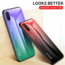 ТПУ накладка Color Glass для Xiaomi Mi CC9