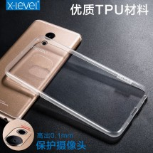 ТПУ накладка X-Level Antislip Series для Meizu Pro 6s (прозрачная)