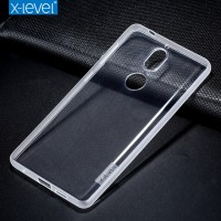 ТПУ чехол X-Level Antislip Series для Xiaomi Redmi 8A Dual (прозрачный)